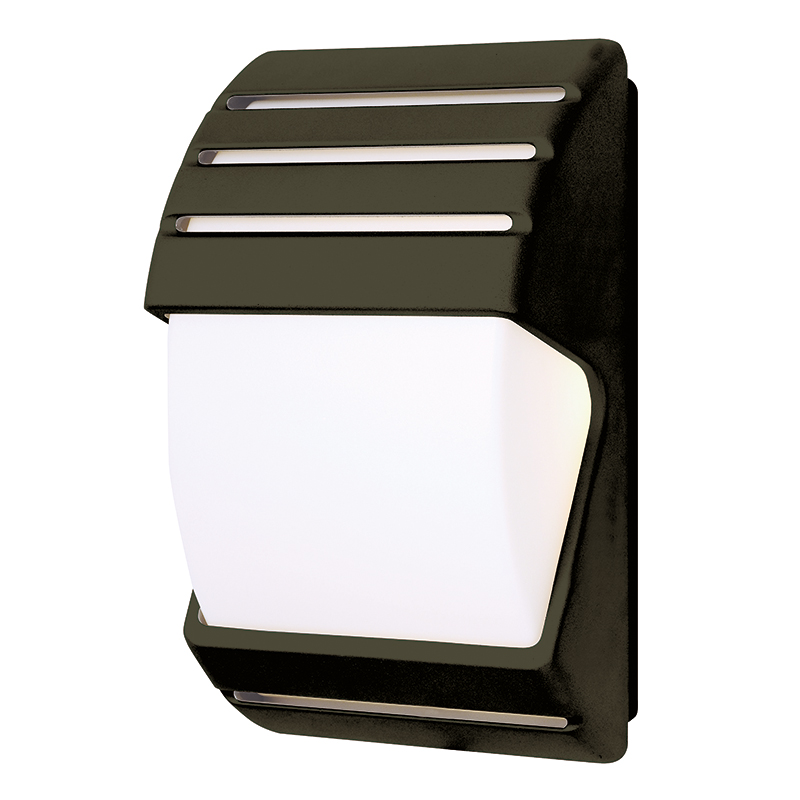 hartwell low energy ip44 outdoor wall light in black with. Black Bedroom Furniture Sets. Home Design Ideas