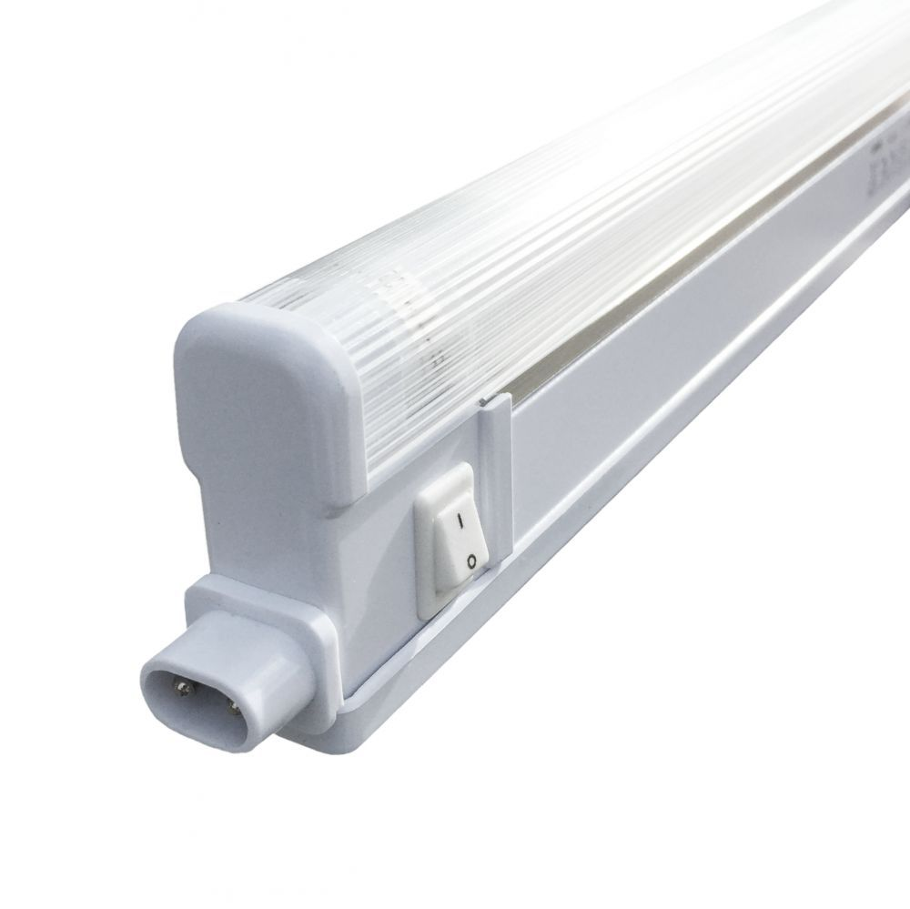 8w 12w 16w Led Kitchen Lighting Fixtures Ultra Thin Flush: Slimline Fluorescent Link Light Complete With 16W T4 Tube