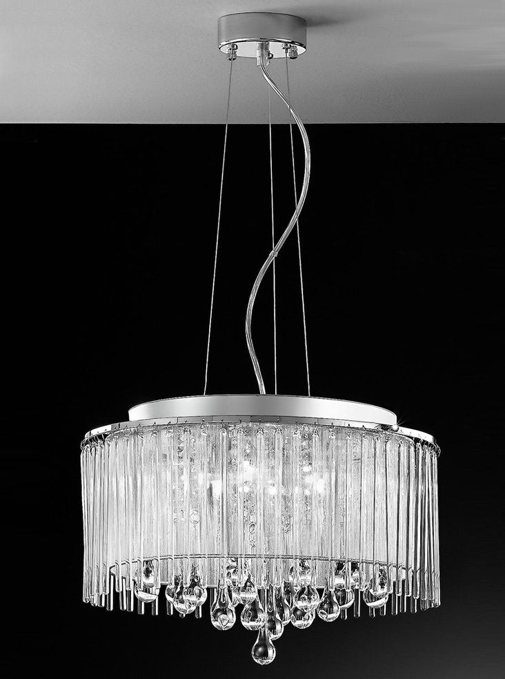 Sherbourne Table Lamp in a Chrome